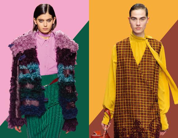 패션피플 돋는 색조합