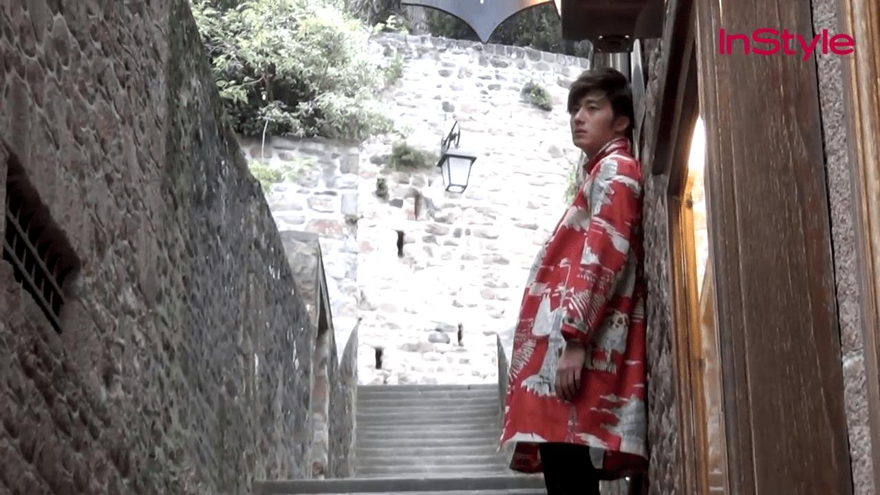 정일우 화보 비하인드 영상